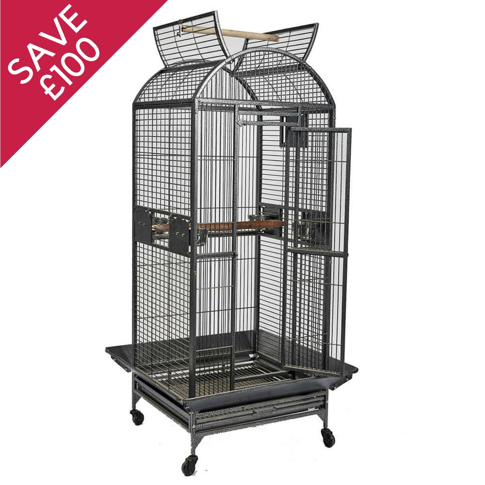 Anguel Open Top Parrot Cage
